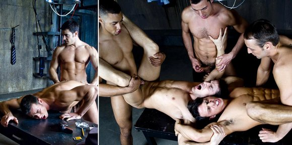 Randy Blue Alley Cats Gay Sex Orgy