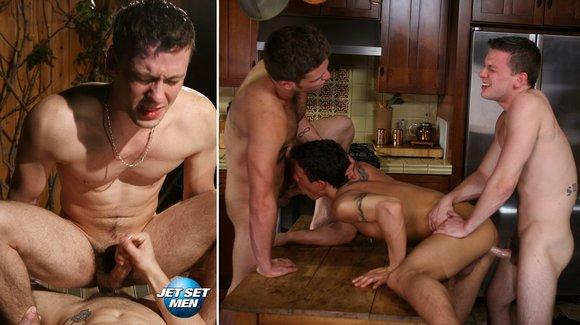 Ass Crusin With Aaron James Gay Sex Fuck