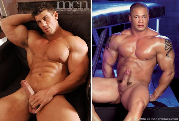 Gay Porn Stars Matthew Rush and Zeb Atlas