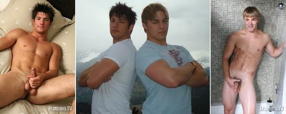Ex-Fratmen Damon and Landon