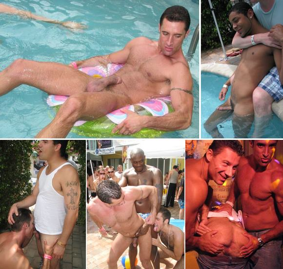 Rentboy's Ft Lauderdale Pool Party 2008 Gay Sex