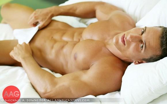 Muscular male model Jakub Stefano All American Guys