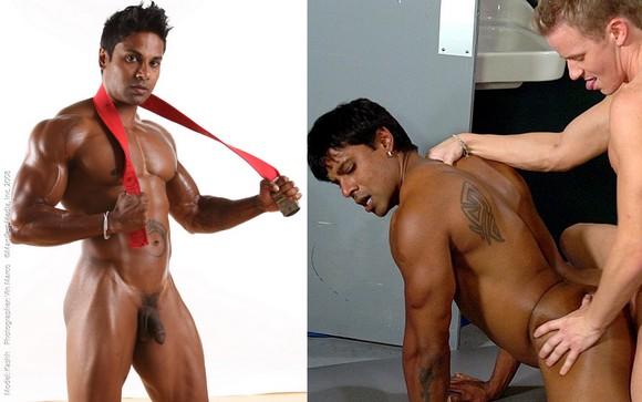 bodybuilder Kash Satal fucked