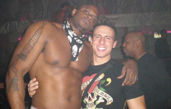 gay porn star Reese Rideout and Diesel Washington