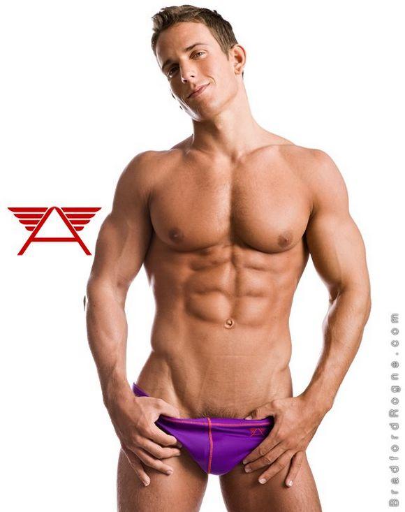 muscle Czech underwear model Jakub Stefano