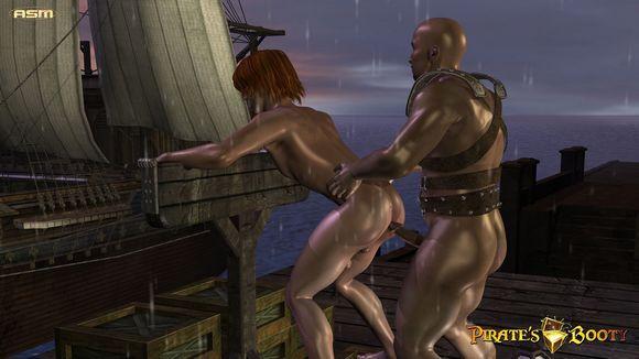 Pirates Booty cgi animated gay porn