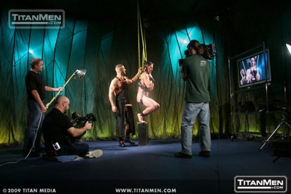 Titan Men Exclusive Gay Porn Star WILL PARKER and Tony Buff behind the scenes