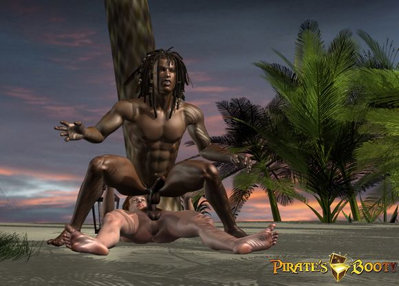 Pirates Booty cgi animated gay porn