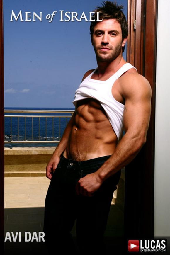 muscular Israeli Gay Porn Star AVI DAR