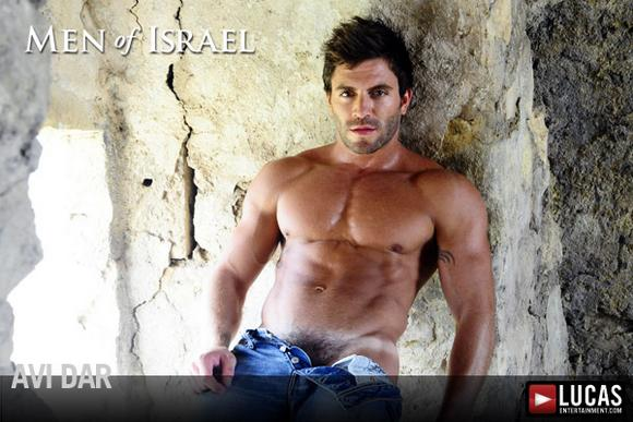 muscular Israeli Gay Porn Star AVI DAR