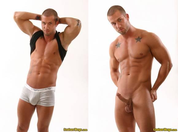 muscular porn star Rod Daily gay sex