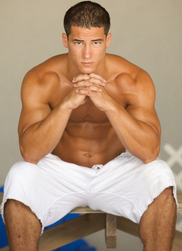 Active Duty muscular porn model CASH