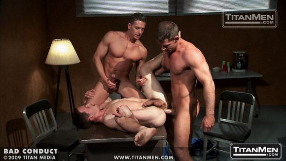 Titan Men BAD CONDUCT gay porn sex