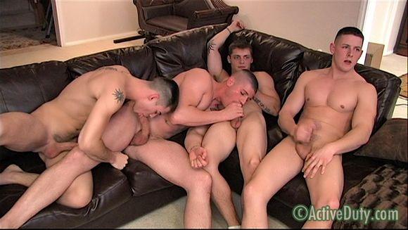 Active Duty Bulletproof 3 naked soldiers Conrad Dorian David Chance gay sex