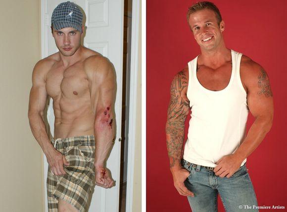 muscular gay porn star Jason Adonis Mark Dalton