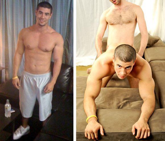Jet Set Men JASON Dominic Ford Model KAY new gay porn star getting fucked