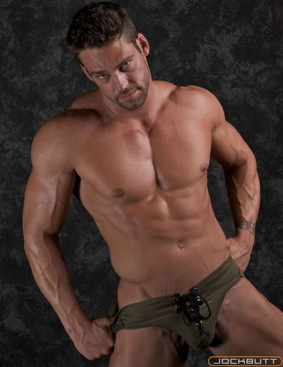 muscle model bodybuilder jock butt PAUL POWERHOUSE