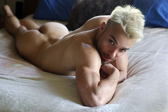 muscular gay porn star Nelson Troy