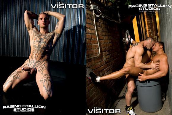 Raging Stallion THE VISITOR Logan McCree alien gay sex