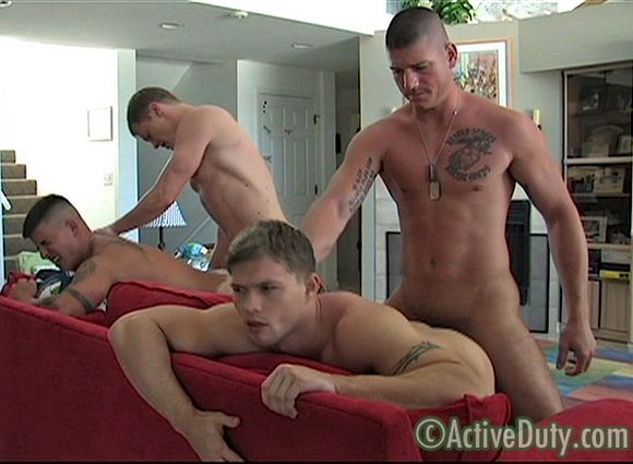 Activeduty nice looking recruits raw