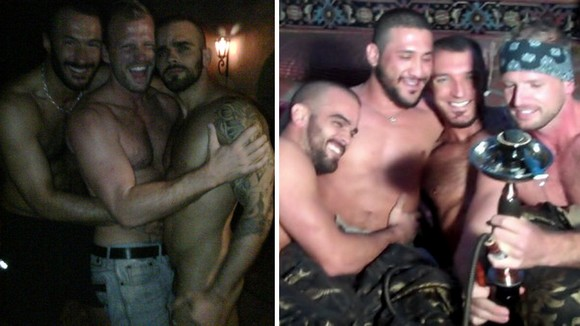 Arabesque 2 behind the scenes Scott Tanner Damien Crosse Tony Aziz Francesco DMacho