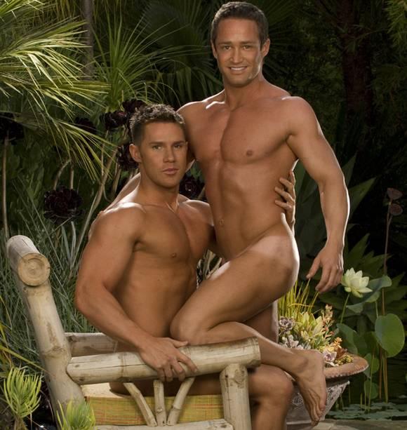 gay porn star Brian Hansen and Benjamin Bradley