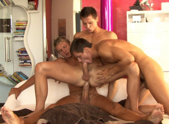 Bel Ami gay sex Trevor Yates Fucking Milo and Elijah Peters Twins