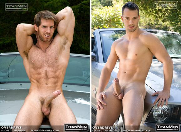 Titan Men Exclusive Gay porn star Dean Flynn and Marco Blaze
