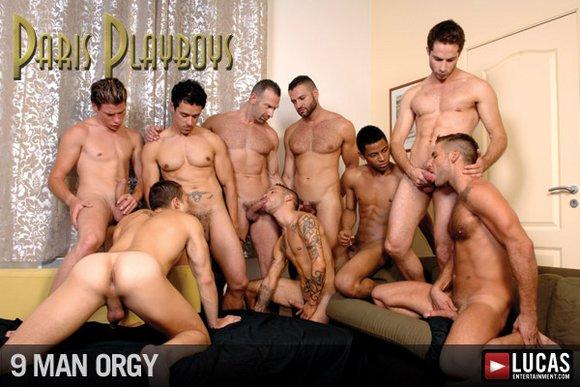 Paris men orgy