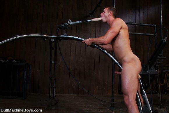 Gay butt fucking machine first time the fur 7
