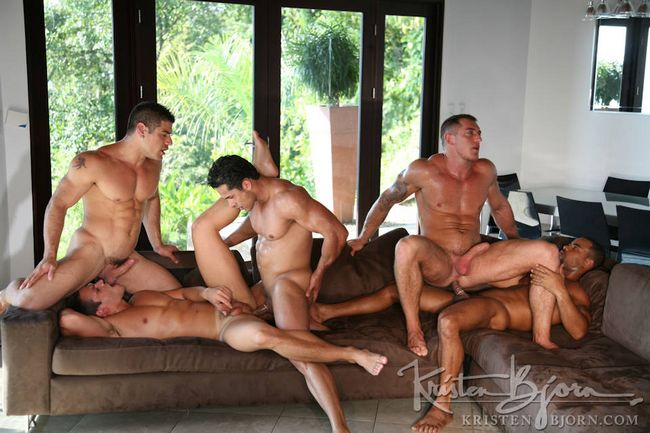 Tropical gay nude