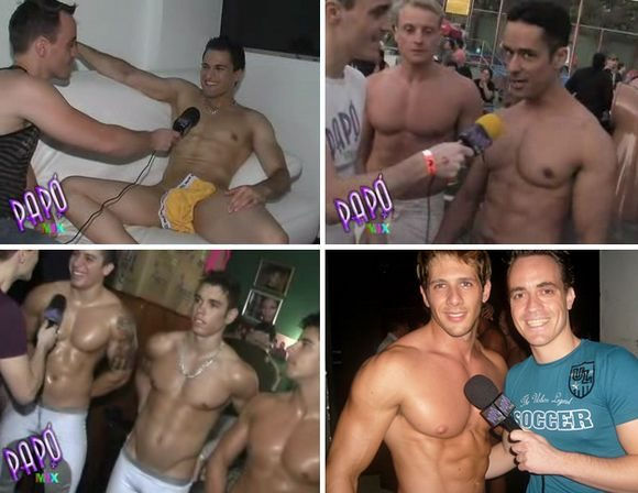 Papomix interview Brazilian gay porn stars and go go boys