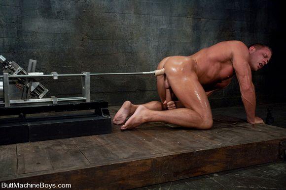 movies fucking machines anal gay