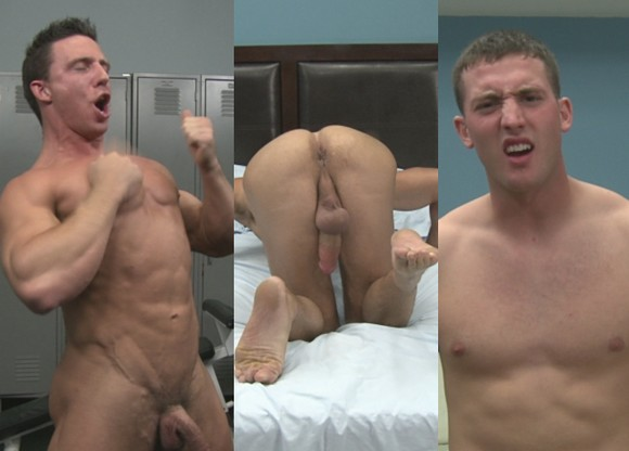 Caption This Randy Blue models Reese Rideout Mike West