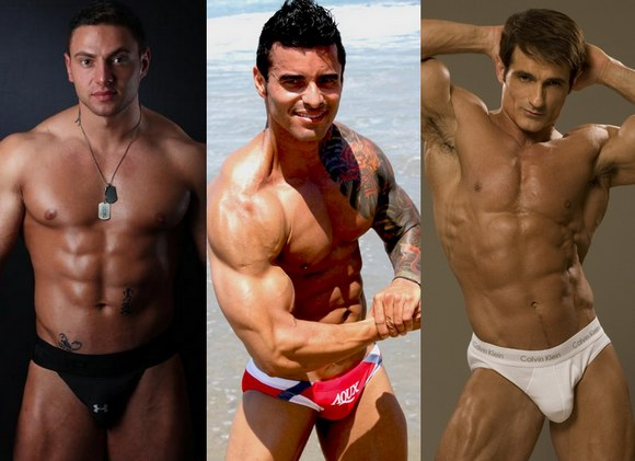 bodybuilder gay porn star Jay Klasse, Alexsander Freitas, Kent Logan