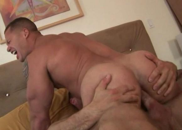 gay porn star Matthew Rush getting fucked by Jack Dragon