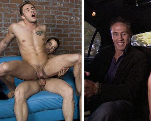 Randy Blue Model Ryan Rockford As Douchebag On Foursome-6492