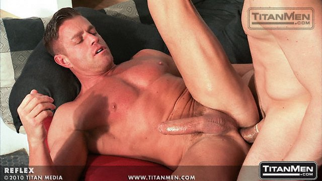 Anal sex stairs scene