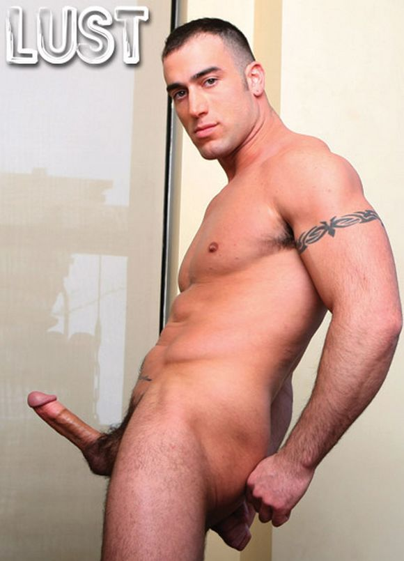Israeli Musclegod AVI DAR Bottoms for Spencer Reed in LUST