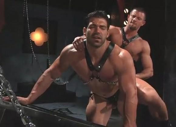 zelfgemaakte orgie video