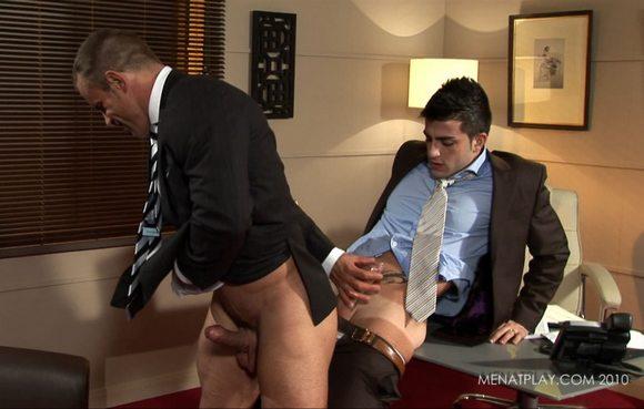 Xxx gay sex boys daddy keeping the boss happy