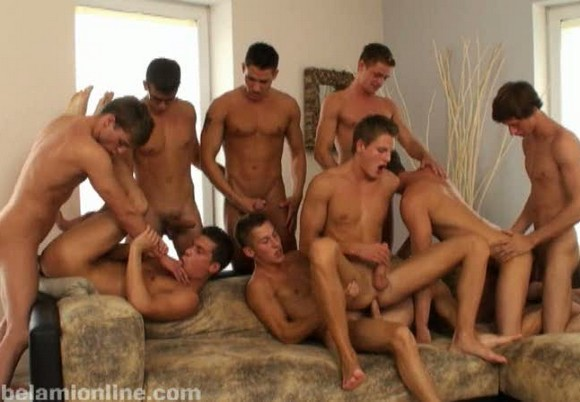 Drunk Orgy College Party