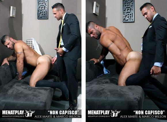 suit sex gay Hot