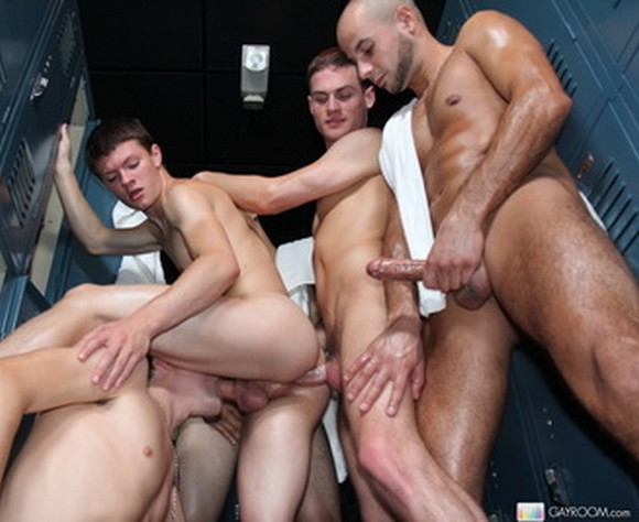 Gay gangbang party london
