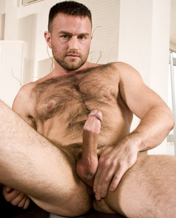 Hairy men naked
