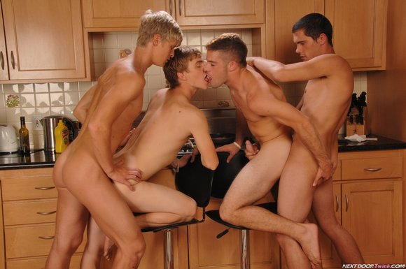 cameron foster ricky larkin cal parker kyle quinn foursome