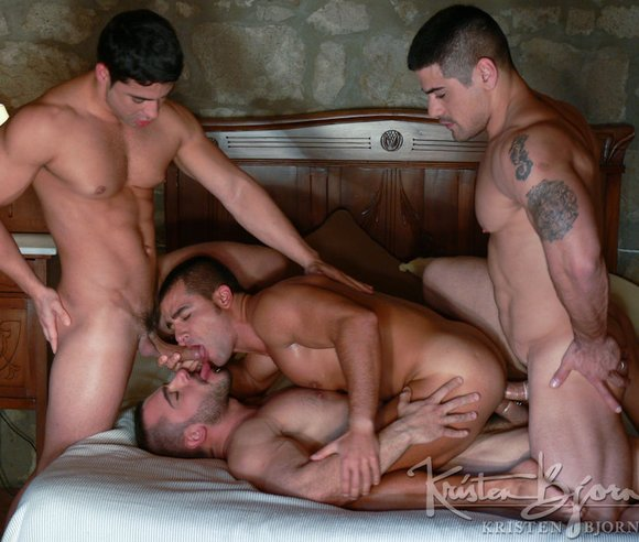 double anal pictures male gay sex