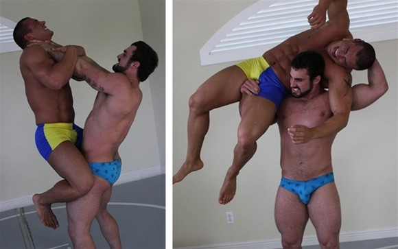 Muscle Beefy Gay Hardcore Bareback Fuck