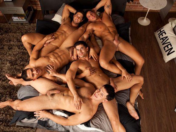 Randy blue orgy