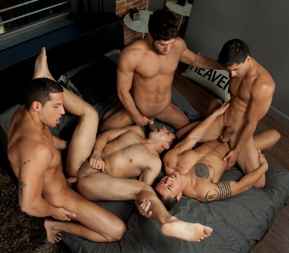 3 boy jack off contest